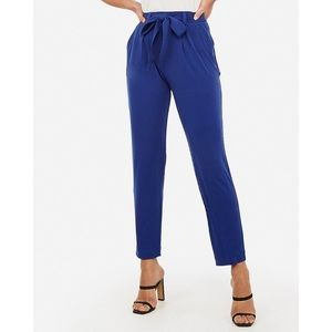 Express High Rise Ankle Pants